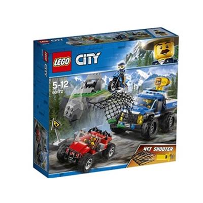 乐高 玩具 城市组 City 5岁-12岁 山地追击 60172 积木LEGO