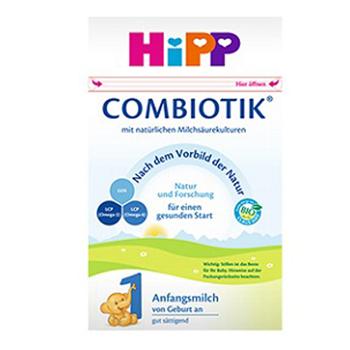 德国喜宝(HiPP)益生元系列 益生菌有机婴幼儿奶粉 1段(0-6月)600克