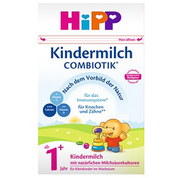 德国喜宝(HiPP)益生元系列 益生菌有机婴幼儿奶粉 1+段(1-2岁)600克