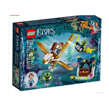 乐高 LEGO 积木拼装玩具 儿童玩具 2018新款 41190艾米丽·琼斯与天鹰历险