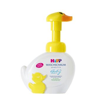 德国喜宝hipp可爱小鸭子 婴儿童泡泡沐浴露 洗手洗脸液 250ml 1瓶装 250ml
