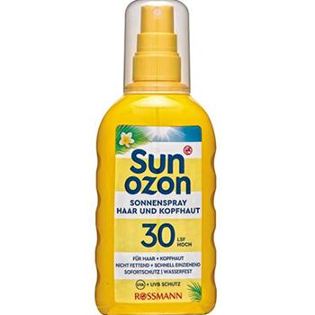 sunozon 防晒喷剂 针对头发和头上皮肤 成人LSF 30