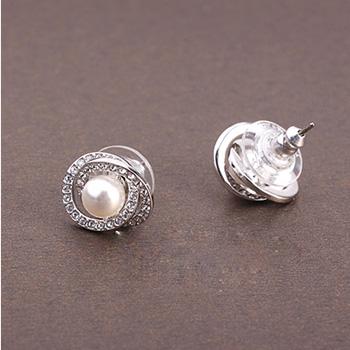施华洛世奇SwarovskiElaborate 时尚珍珠气质女士耳钉5289270