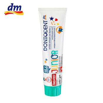 预防龋齿含钙儿童牙膏 6-12岁 薄荷味(100ml)