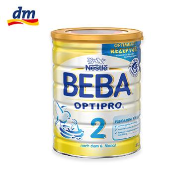 雀巢 BEBA OPTIPRO较大婴儿配方奶粉 2 段(800g)