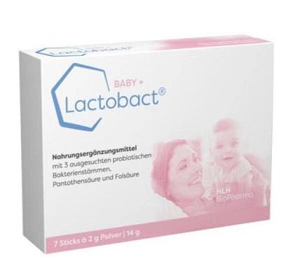 德国lactobact baby婴儿益生菌粉7包便携装