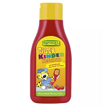 Rapunzel Tiger 长发公主儿童番茄酱挤挤装500g
